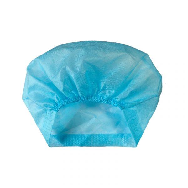 Disposable Bouffant Caps 35g PP Non-woven Fabric