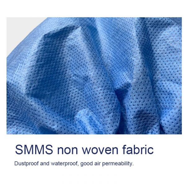 Disposable Medical Caps 35g SMMS Non-woven Fabric