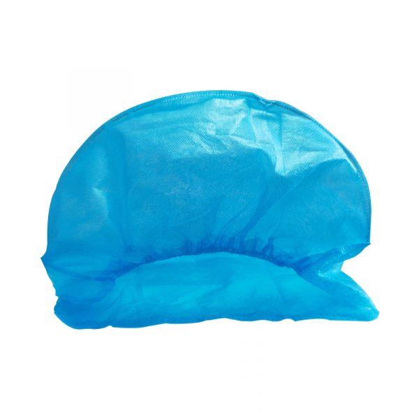 Disposable Bouffant Caps 35g PP Non-woven Fabric