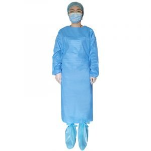 Disposable Isolation Gown Level 2 Splash Resistant-35gSMMS